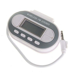 FM Transmitter s digitálnym teplomerom a USB nabíjaním